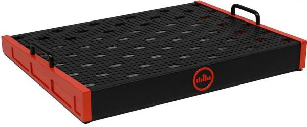 Pedal board flight pour effet Temple audio design Templeboard Trio 21 + Soft Case - Temple Red