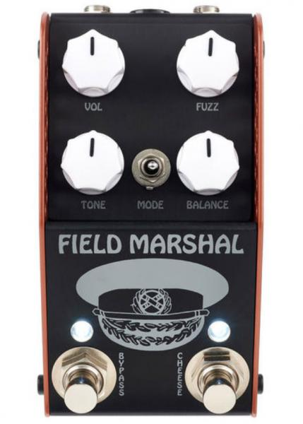 Pédale overdrive / distortion / fuzz Thorpyfx The Field Marshal Fuzz