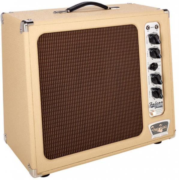 Combo ampli guitare électrique Tone king Falcon Grande - Cream