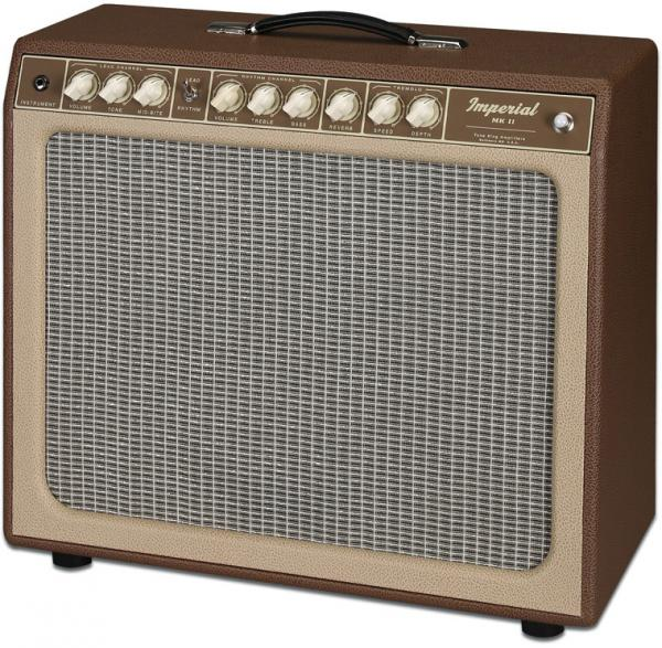 Combo ampli guitare électrique Tone king Imperial MK II - Brown/Beige