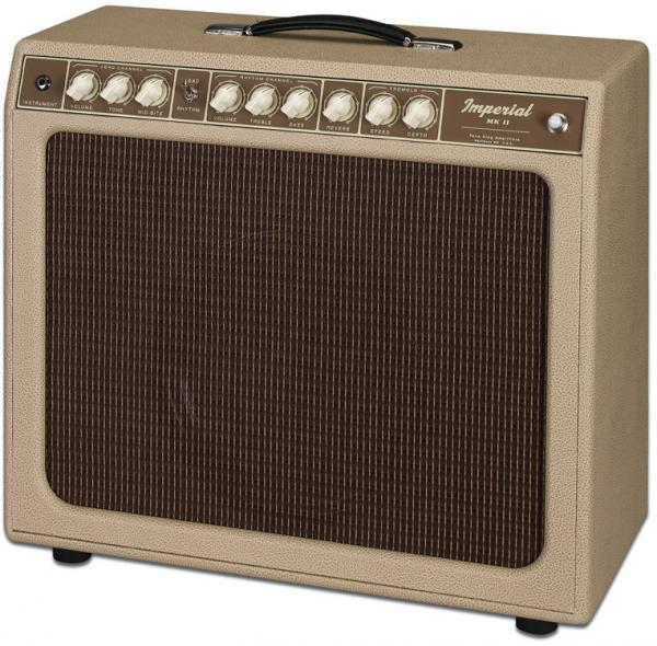 Combo ampli guitare électrique Tone king Imperial MK II - Cream