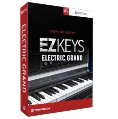 Instrument virtuel Toontrack Electric Grand EzKeys