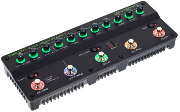 Multi effet guitare acoustique en pedalier Trace elliot Transit A Acoustic Pre-amp & Effects