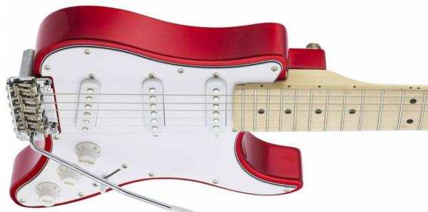 Guitare électrique voyage Traveler guitar Travelcaster Deluxe +Bag - candy apple red
