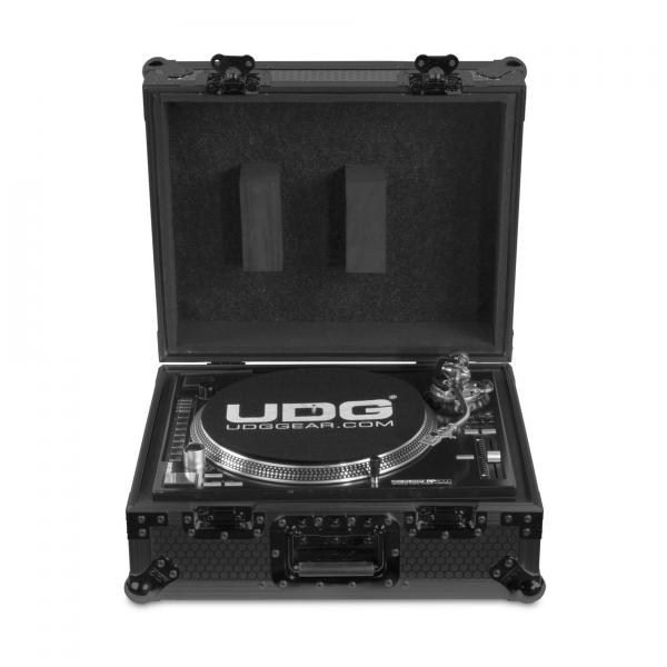 Flight dj Udg Flight-case black pour platines vinyles