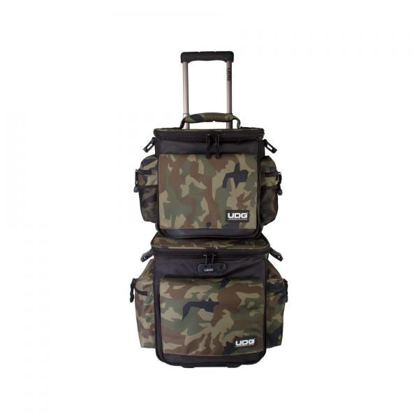 Sac transport trolley dj Udg U 9679 BC-OR(Slingbag trolley Camo orange)