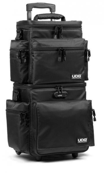 Sac transport trolley dj Udg U9679 Trolley Set DeLuxe Black/Orange