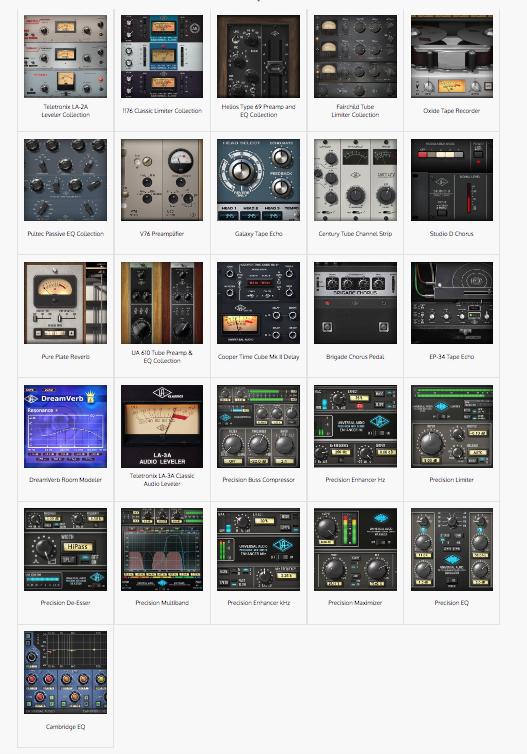 Plug-ins Universal Audio