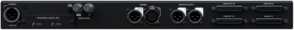 Interface audio Universal audio Apollo x16