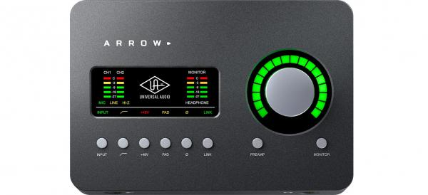 Interface audio thunderbold Universal audio Arrow