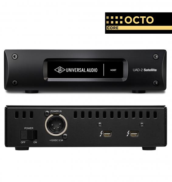 interface audio universal audio uad 2 satellite thunderbolt octo core star 39 s music. Black Bedroom Furniture Sets. Home Design Ideas