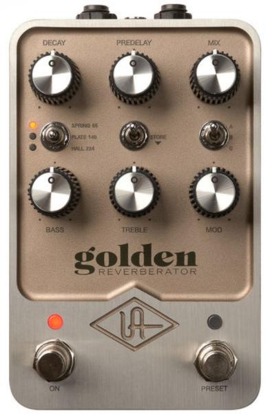 Pédale reverb / delay / echo Universal audio UAFX Golden Reverberator