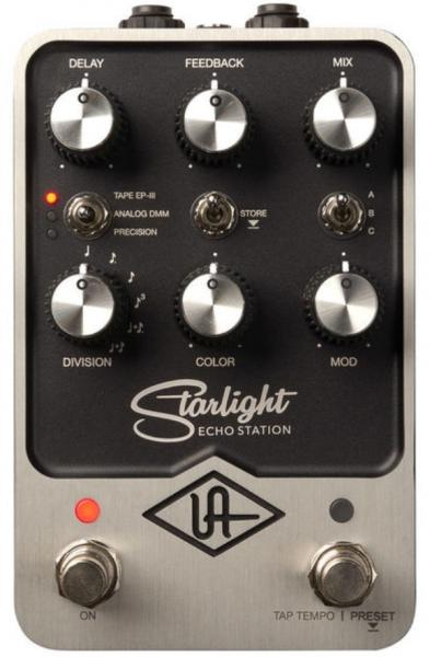 Pédale reverb / delay / echo Universal audio UAFX Starlight Echo Station