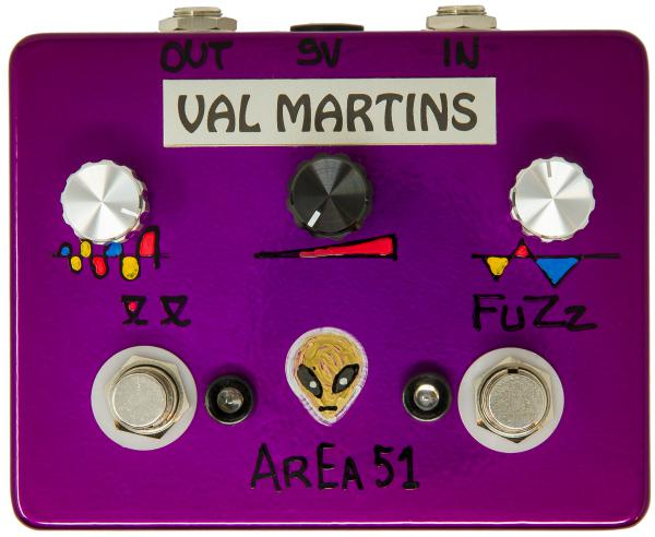 Pédale overdrive / distortion / fuzz Val martins Aera 51 Octafuzz