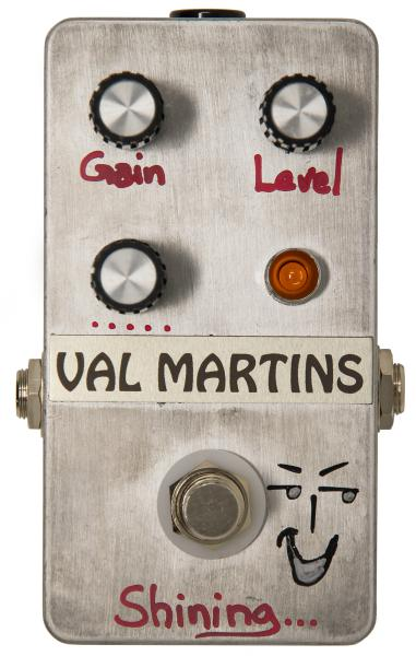 Pédale overdrive / distortion / fuzz Val martins Shining