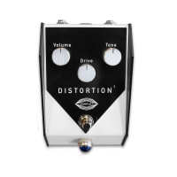 Pédale overdrive / distortion / fuzz Vanflet Distorsion 1