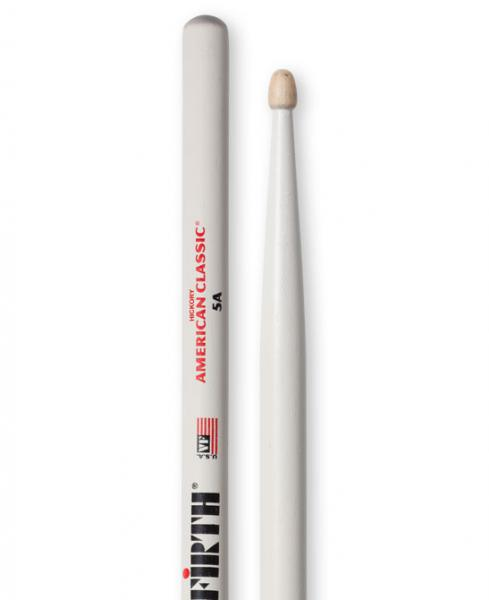 Baguette batterie Vic firth American Classic 5A White