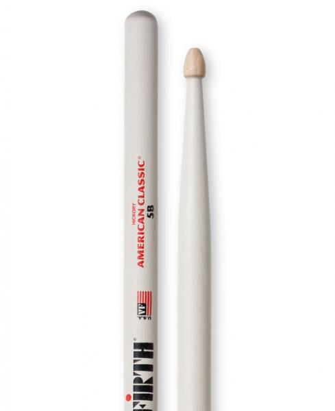 Baguette batterie Vic firth American Classic 5B White