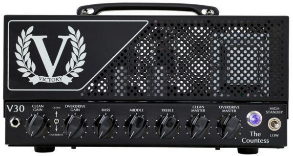 Tête ampli guitare électrique Victory amplification V30 The Countess Head