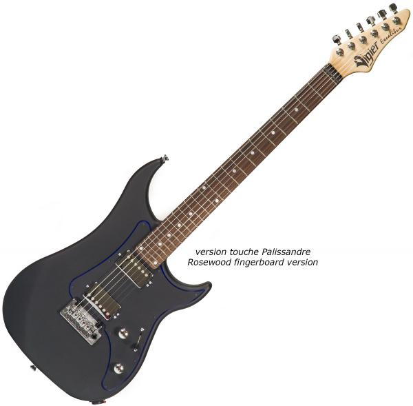Guitare électrique solid body Vigier                         Excalibur Indus (HH, Trem, MN) - textured black