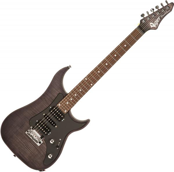 Guitare électrique solid body Vigier                         Excalibur SpeciaAl HSH (RW) +Case - Velour noir