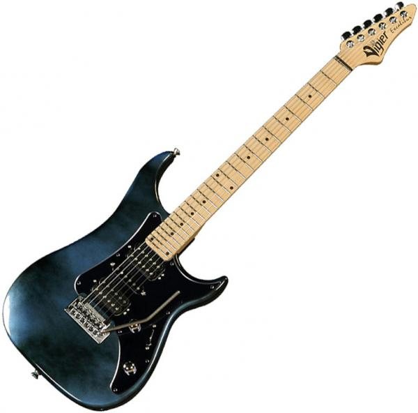 Guitare électrique solid body Vigier                         Excalibur Supra (MN) - urban blue
