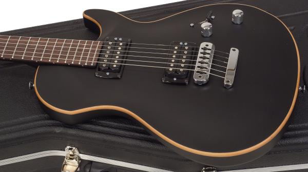 Guitare électrique solid body Vigier                         G.V. Rock - matte black
