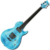 Guitare électrique solid body Vigier                         G.V. Wood - Stonewash blue