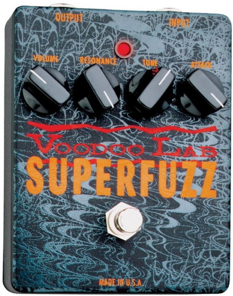 Pédale overdrive / distortion / fuzz Voodoo lab Superfuzz