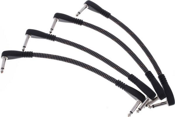 Câble Vovox Sonorus Patch Cable Angled 25cm / 0.8ft (x4)