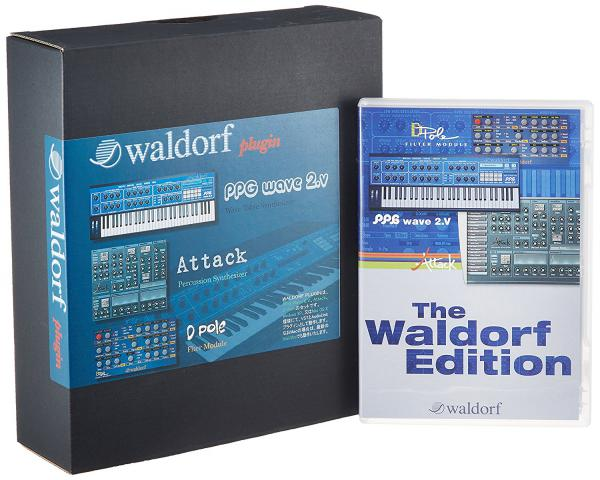 Banque de sons instrument virtuel Waldorf Edition Plug-in Suite