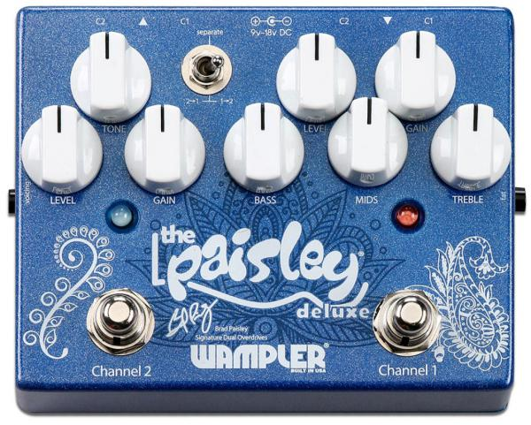 Pédale overdrive / distortion / fuzz Wampler Brad Paisley Drive Deluxe