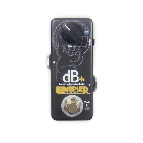 Pédale volume / boost. / expression Wampler DB+