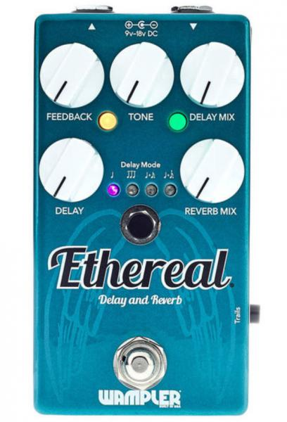 Pédale reverb / delay / echo Wampler Ethereal Reverb and Delay