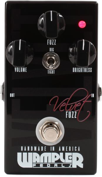 Pédale overdrive / distortion / fuzz Wampler VELVET