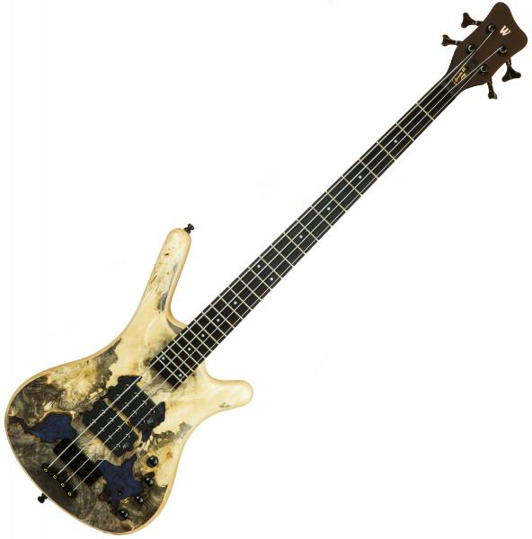 Basse électrique solid body Warwick PRO GPS Corvette $$ 4 Ltd - Natural