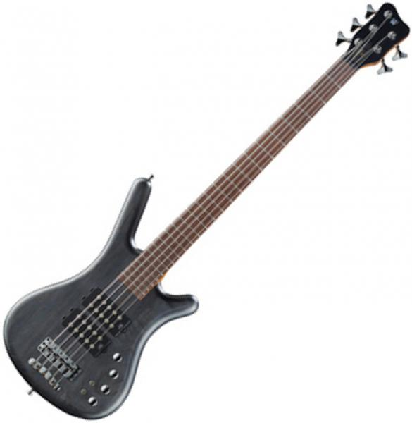 Basse électrique solid body Warwick PRO GPS Corvette $$ 5 - Nirvana black satin