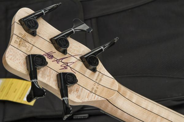 Basse électrique solid body Warwick PRO GPS Corvette $$ 5 String Ltd #007785-19 - natural