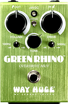 Pédale overdrive / distortion / fuzz Way huge WHE 207 Green Rhino Overdrive MKIV