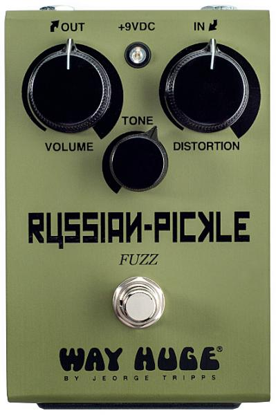 Pédale overdrive / distortion / fuzz Way huge Russian Pickle Fuzz WHE408