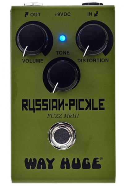 Pédale overdrive / distortion / fuzz Way huge Smalls Russian-Pickle Fuzz WM42