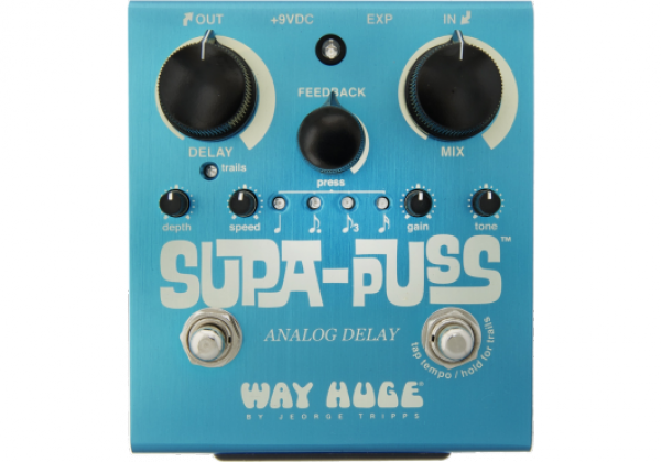 Pédale reverb / delay / echo Way huge WHE707 Supa Puss