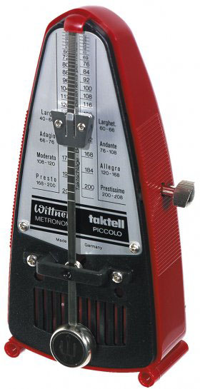 Metronome Wittner 834 Piccolo Rubis