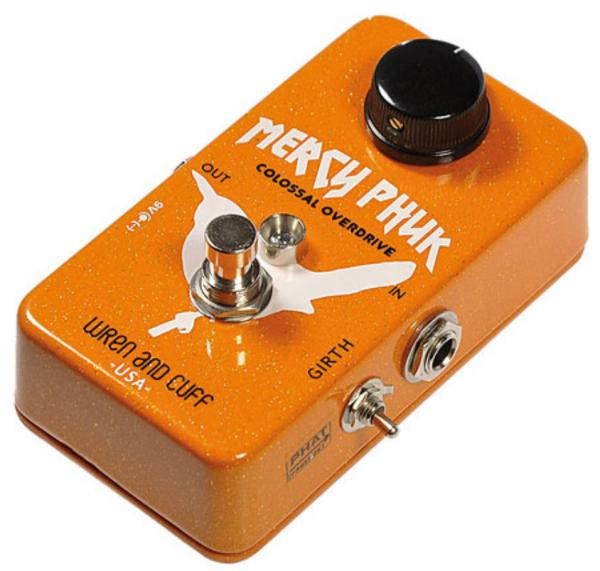 Pédale overdrive / distortion / fuzz Wren and cuff Mercy Phuk Overdrive