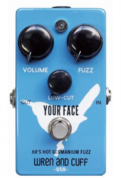 Pédale overdrive / distortion / fuzz Wren and cuff Your Face 70's Germanium Fuzz