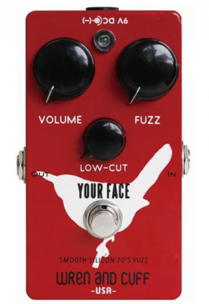 Pédale overdrive / distortion / fuzz Wren and cuff Your Face 70's Silicon Fuzz