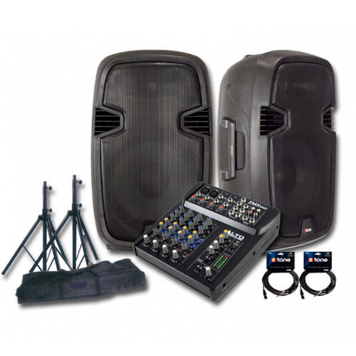 Pack sonorisation X-tone Bundle SMS-12A Mix6 Alto