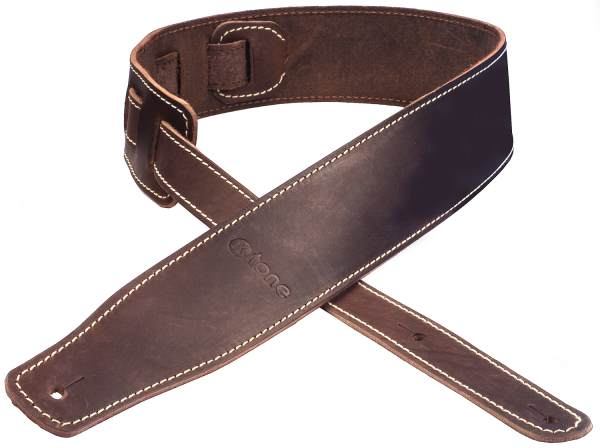 Sangle courroie X-tone xg 3151 Classic Leather Guitar Strap - Brown