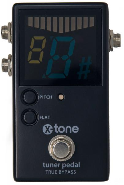 Accordeur X-tone Chromatic Pedal Tuner