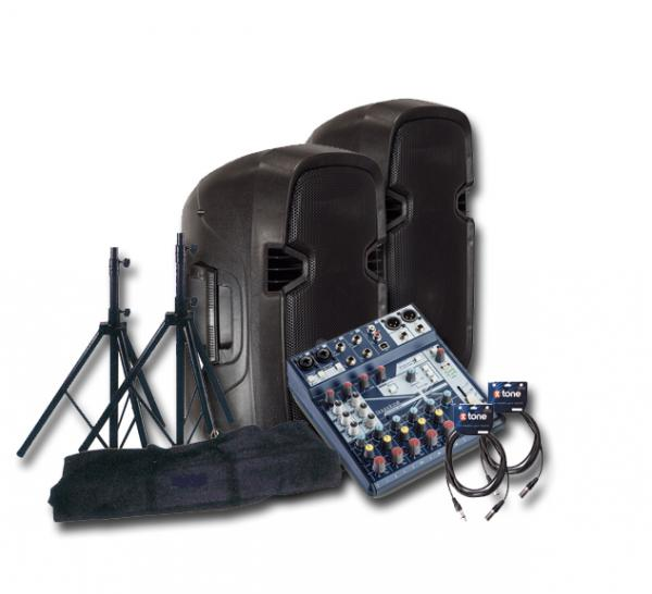 Pack sonorisation X-tone Bundle SMS-10A Mix8 Notepad